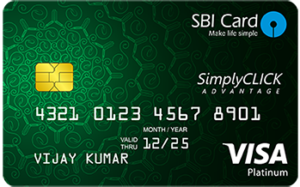 SBI Simply Click Credit Card, Best credit cards in india 2018